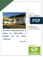 1. Estudio Hidrogeologico Cooperativa Agraria Norandino