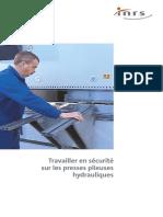 Segurança no trabalho em prensas hidráulicas