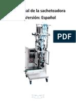 Manual Sacheteadora_ Español