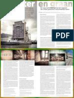 Water en Graan. Een Paar Kanttekeningen bij het 'opgeven' van unieke graansilo's in de Antwerpse haven