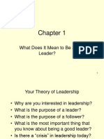 Leadership Lecture 1