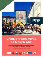 Colloque international pluridisciplinaire à Carcassonne