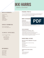 canva resume