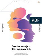 Programa Festa Major Terrassa 2019