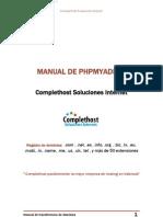 Manual de Uso de Phpmyadmin