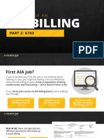 Anatomy of an AIA Billing-Part2