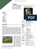 William Butler Yeats - Reseña Biográfica