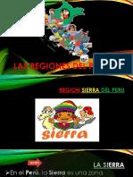 Las Regiones Del Peru Sierra
