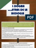 El Dogma Central de La Biologia