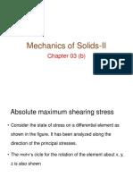 4. Absolute Maximum Shearing Stress