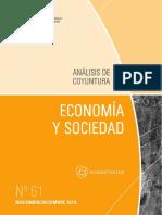 ECONOMIA Y SOCIEDAD - N 61 - NOVIEMBRE DICIEMBRE 2018 - PARAGUAY - PORTALGUARANI