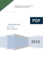 Marketing Plan Revised