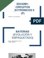 Baterias Empaquetado y Evolucion