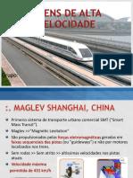 Trens de Alta Velocidade