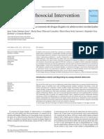 Contextos de Socializaci n y Consumo de Drogas Ilegales 2014 Psychosocial In