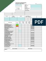 Apqp Critical Supplier Status Report