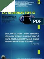 Neuronas espejo; importancia de la teoría de la mente Una proyección filosófica.