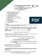 Année Académique 2019-2020