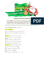 All i Want for Christmas-ukulele Sheets