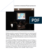 Cineastas Franceses Presentan Cortometraje