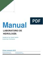 Manual hidrología