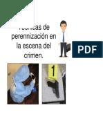 Técnicas de Perennización en La Escena Del Crimen (1)