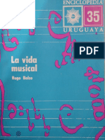 Hugo Balzo. La Vida Musical