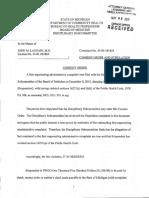 Dr. Laurain - LARA consent order