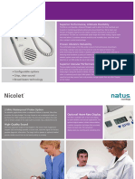 Doppler Fœtal NICOLET ELITE Brochure