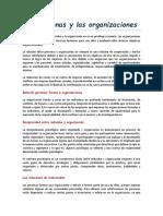 Resumen L_3 Las Personas y Las Organizaciones