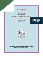 Tulip English Class 9 Th
