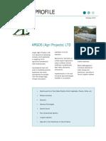 Argos Company Profile 2012