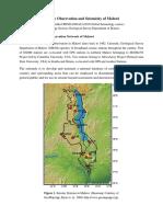 Malawi Seismology