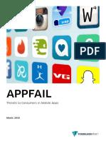 Appfail Report 2016