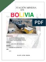 Explotacion Minera en Bolivia