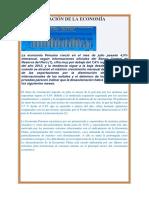 Desaceleración de La Economía Peruana