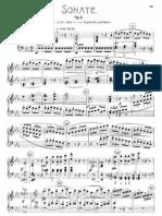 Piano Sonata No.4 Op. 7