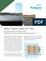 Document Biolac Wave Ox Plus 1182