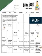 june 2019 parent calendar