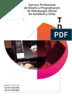 Carrera Videojuegos 3d Diseno Desarrollo.tdv