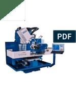 Fresadora CNC 5 Ejes FlexCinco Industrias Viwa1 GR