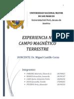 Campo Magnetico Laboratorio FISICA III