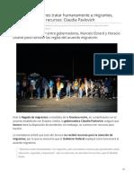 12-06-2019 En Sonora Queremos Tratar Humanamente a Migrantes Pero Necesitamos Recursos Claudia Pavlovich-El Heraldo