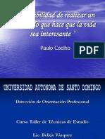 Curso de Tecnicas de Estudio Recuperacion Academica