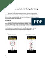 Series and Parallel Speaker Wiring