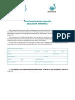 Evaluacion EducacionAmbiental AR