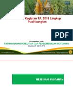 2f. Tanaman Pangan -Rapim B 26 Maret 2018