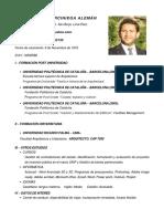 Curriculum Vitae Miguel Arciniega