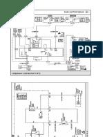 Malibu 1998, V6-3.1l - Ac Control Diagram