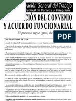 COMUNICADO Convenio y Mesa Sectorial